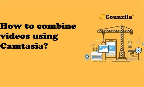 How to combine videos using Camtasia?